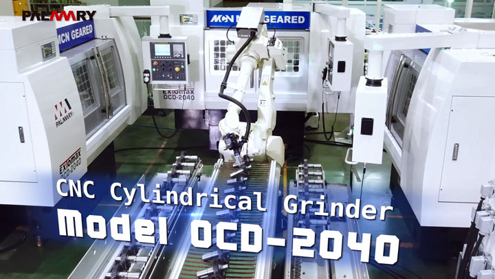CNC Cylindrical Grinder OCD-2040 with robot